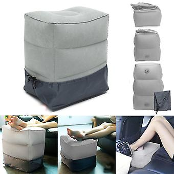 Portable Inflatable Travel Footrest Air Cushion - Plane, Train, Kids Bed Foot