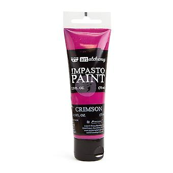 Finnabair Konst Alkemi Impasto Paint Crimson