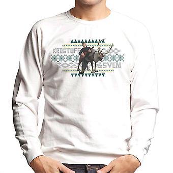 Disney frozen Kristoff und Sven Men's Sweatshirt
