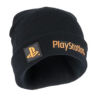 Playstation Text Logo Girls Beanie ? Mercancía oficial