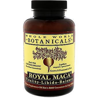 Whole World Botanicals, Royal Maca, 500 mg, 180 Gel Caps