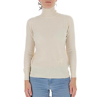 Alberta Ferretti 09596604v0002 Women's White Wool Sweater