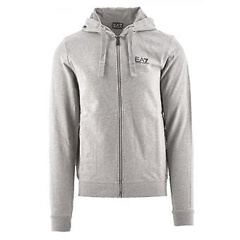 EA7 Grey Hooded Sweatshirt