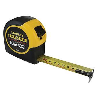 Stanley Tools FatMax BladeArmor Tape 10m/33ft (Width 32mm) STA033805