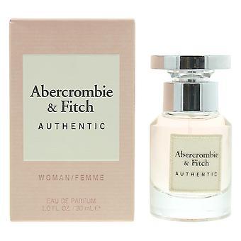 Abercrombie & Fitch Authentic Woman/Femme Eau de Parfum 30ml Spray For Her