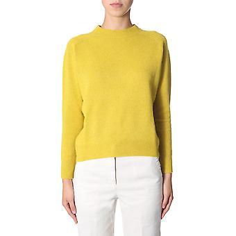 Aspesi 4027562385153 Donna's Maglione di lana gialla