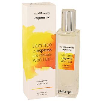 La philosophie Expressive Eau De Parfum Spray de philosophie 1 oz Eau De Parfum Spray