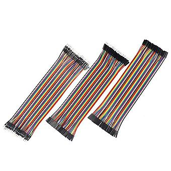 Female To Female Color Breadboard Cable Jump Wire Jumper For Arduino
