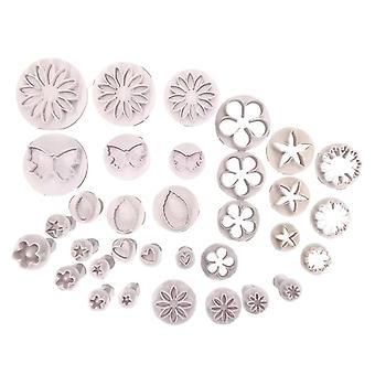 33 Pcs Fondant Cake - Decorating, Mold Mould Cookies Bakeware Set