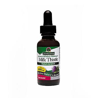 Nature's Answer Milk Thistle, ORGANIC LOW ALCOHOL , 1 OZ