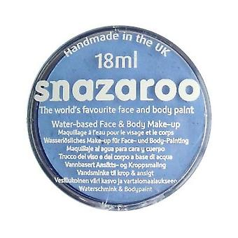 Snazaroo Classic Colours Water Based Face & Body Paint - Pale Blue 18ml