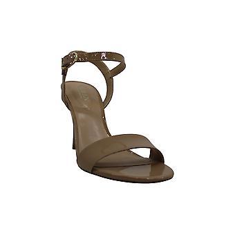 Lauren kirjoittanut Ralph Lauren Women's Shoes Gwen-sn-drs Leather Open Toe Casual Muuli...