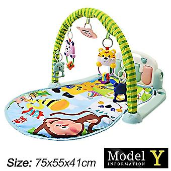 Styles Baby Music Rack Play Mat Kid Rug Early Education Puzzle Carpet Piano