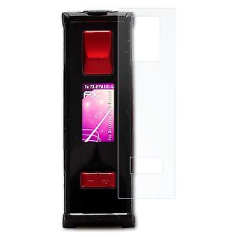 atFoliX Glass Protector kompatibel med Geekvape Aegis Legend Glass Skyddsfilm 9H Hybrid-Glas