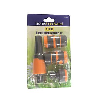 Home Gardener Hose Fitting Starter Set 1/2in HH4680