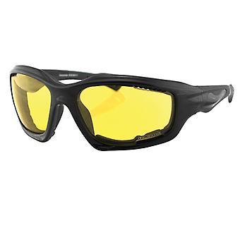 Balboa EDES001Y Desperado Sonnenbrillen W / Schaum - Anti-Beschlag gelbe Linse