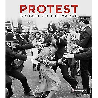 Protesto: Grã-Bretanha em março