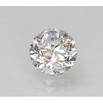 Sertifioitu 1.01 Karat D Väri SI1 Pyöreä Brilliant Natural Loose Diamond 6.01mm