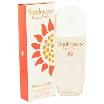 Solsikker drøm kronblad av Elizabeth Arden Eau de Toilette spray 3,3 oz (kvinner) V728-524987