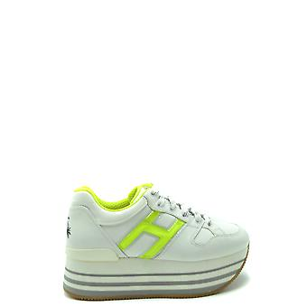 Hogan Ezbc030243 Women's White Leather Sneakers