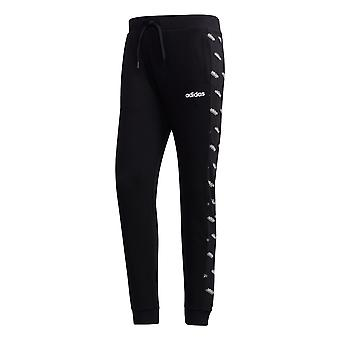 adidas Favourites Track Mens French Terry Tracksuit Pant Black/White