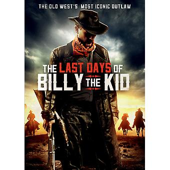 Last Days of Billy the Kid [DVD] USA import