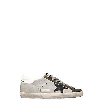 Golden Goose Gmf00101f00037080329 Men's White Polyester Sneakers
