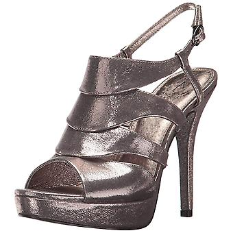 Adrianna Papell Womens MARLENE Satin Open Toe Special Occasion Ankle Strap Sa...