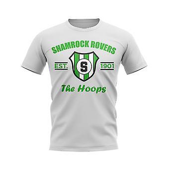 Shamrock Rovers Established Jalkapallo T-paita (Valkoinen)
