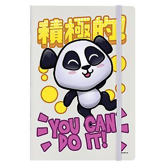 Handa Panda You Can Do It A5 Notebook