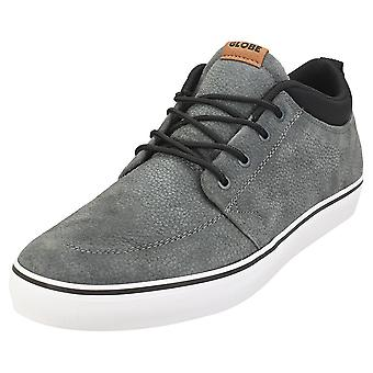Globe Gs Chukka Mens Casual Trainers in Charcoal Black