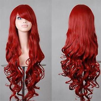 Women's Cos Anime Wig Wig 80cm Long Curly Hair Cosplay Stage Cosplay