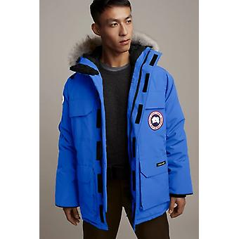 Canada Goose Mens Pbi Blue Expedition Parka Fusion Fit Winter Hooded Warm Coat