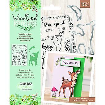 Crafter's Companion Woodland Friends Sello & Die Woodland Deer