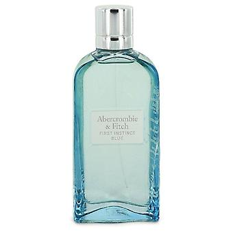First Instinct Blue Eau De Parfum Spray (Tester) By Abercrombie & Fitch 3.4 oz Eau De Parfum Spray