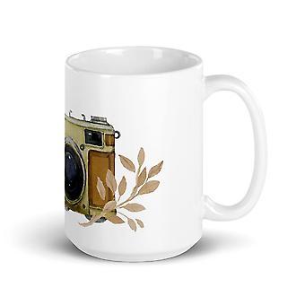 Hand-painted vintage camera - Mug