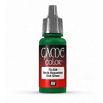 Vallejo Game Color 17ml Acrylic Paint 29 Sick green