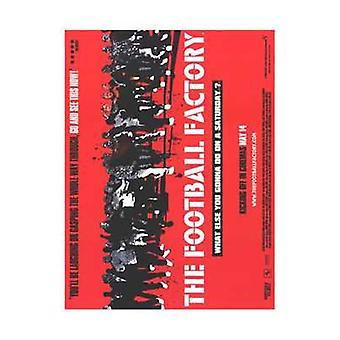 O Poster do filme futebol fábrica (11 x 17)