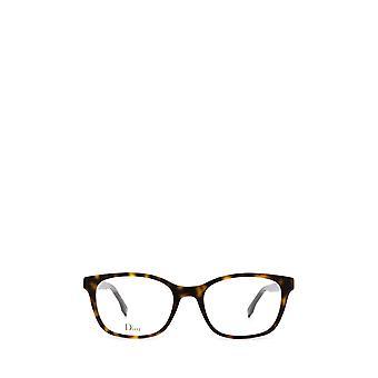 Dior DIORETOILE2 dark havana female eyeglasses