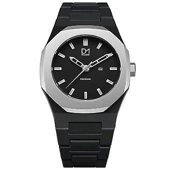 Mens Watch D1 Milano PR01, Quartz, 40mm, 5ATM