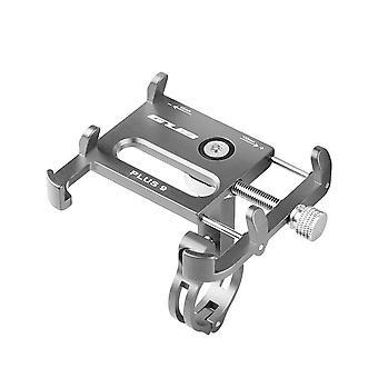 Gub plus 9 Anti-Sheft 360° Rotation Outdoor Aufnahme Aluminiumlegierung Motorrad Fahrrad Lenker Handyhalter Ständer für Geräte 3,5-6,2 Zoll