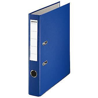 Rapid A4 Folder Lever Arch File 50mm Polypropylene/Paper with Metal Shoe Blue