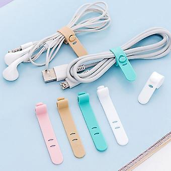 Silika Jel Kablo Sarıcı, Kulaklık Koruyucu, Usb ve Telefon Tutucu Aksesuar Paketi
