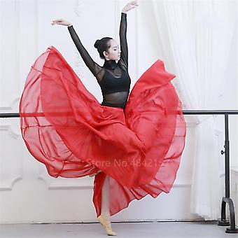 Flamenco Dancing Skirts Solid