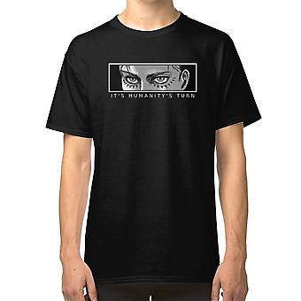 Attack On Titan - Eren Yeager (It'S Humanity'S Turn) T Shirt Levi