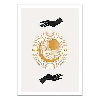 Art-Poster - Magic touch - Miuus studio
