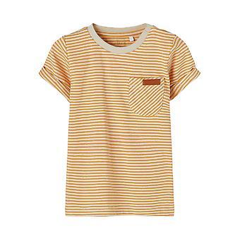 Nome-it Boys Tshirt Fipan Abete Rosso Giallo