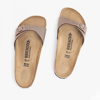 Birkenstock Madrid 40091 (reg) Dames Birko-flor One Strap Sandals Mocca