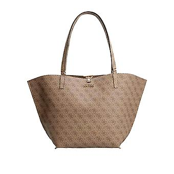 Guess Women's Alby Toggle Tote Bag 45Cm