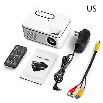 1080P  mini projector home theater cinema av vga usb portative wired